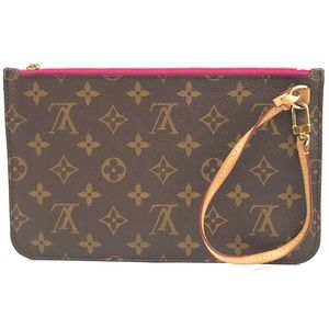 Neverfull Pochette XL Mm and Gm Wristlet Cultch